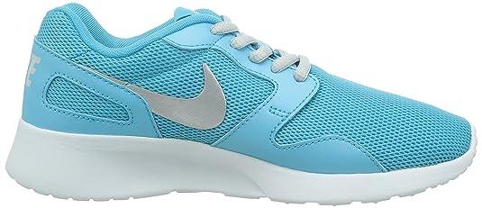 Nike Kaishi - Zapatillas para Mujer, Color Azul (Clearwater/mtlc Platinum-White 401), Talla 36.5