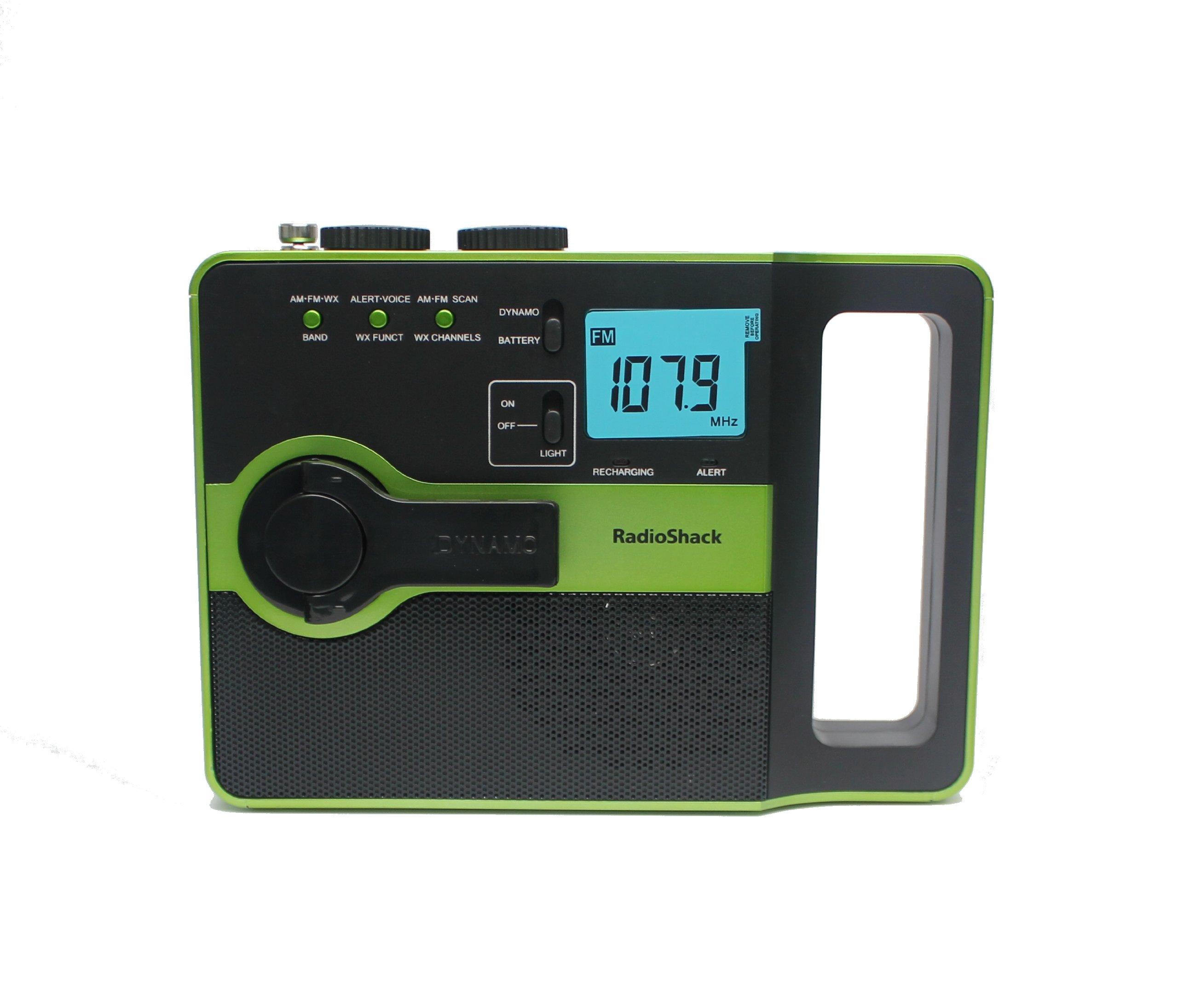 Emergency AM/FM/WX Crank Radio 20-576