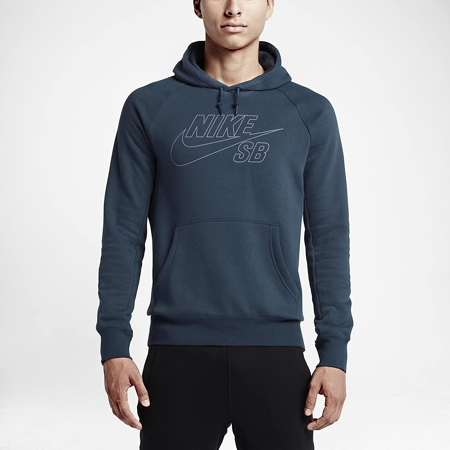 huge selection of bf5d1 69fe0 Nike SB Herren Hoodie Icon Reflective Pullover - SQUADRON ...