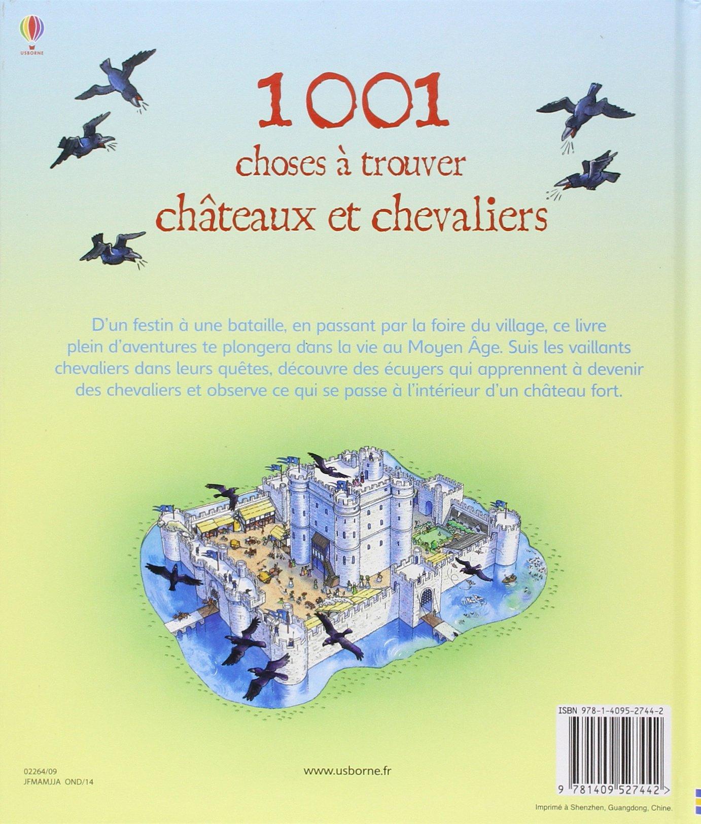 Amazon.fr - 1001 CHOSES A TROUVER DANS LES CHATEAUX FORTS - Hazel Maskell,  Teri Gower, Deborah Cixous - Livres