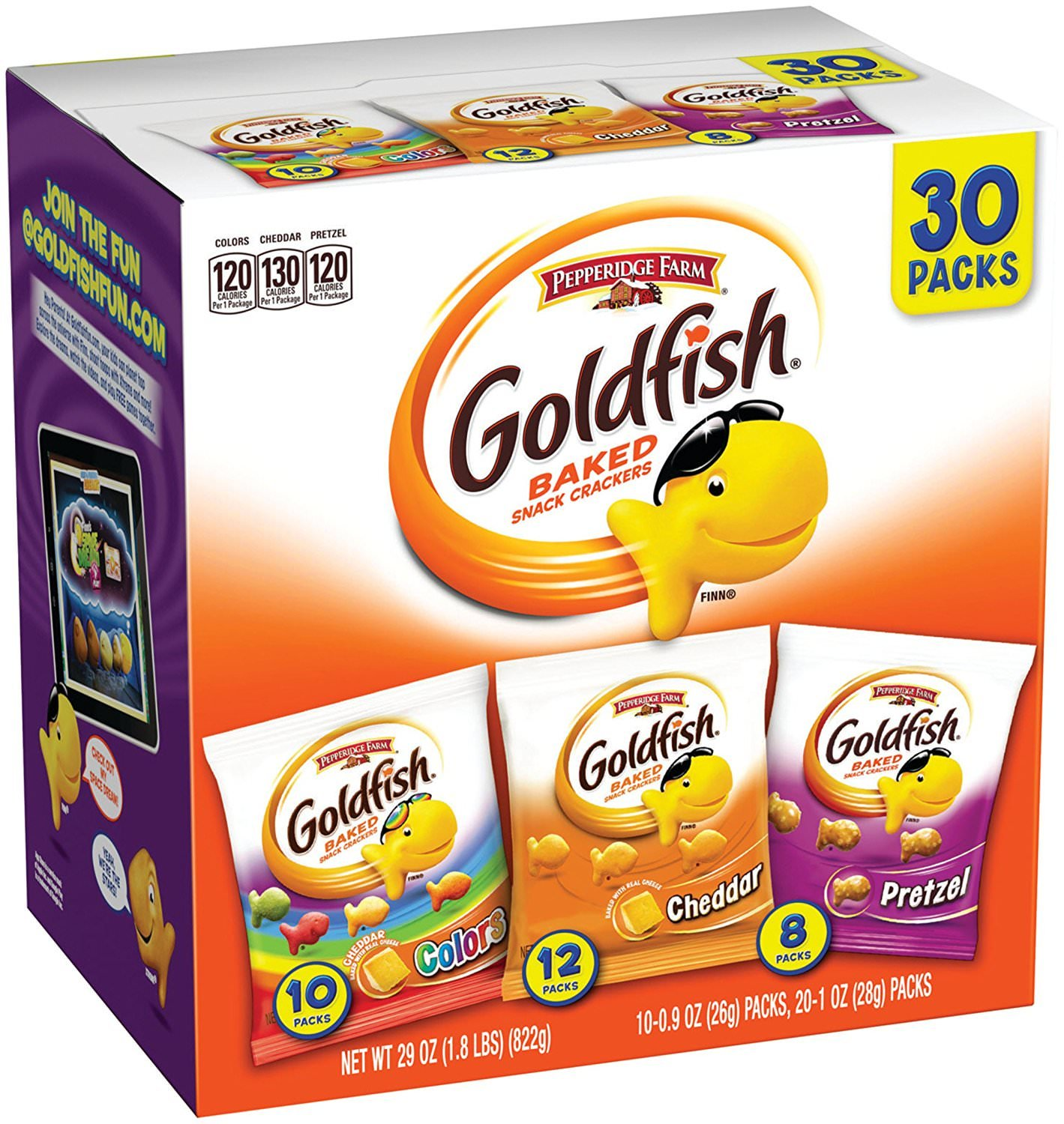 Pepperidge Farm Goldfish Variety Pack (45 Count)