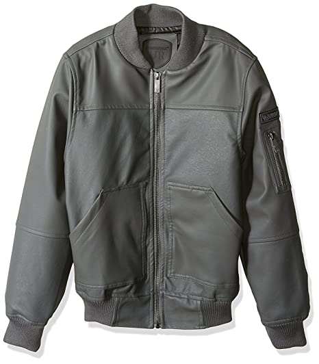 fc3dbb6ef Amazon.com  Urban Republic Boys Faux Leather Jacket Cool Motorcycle ...