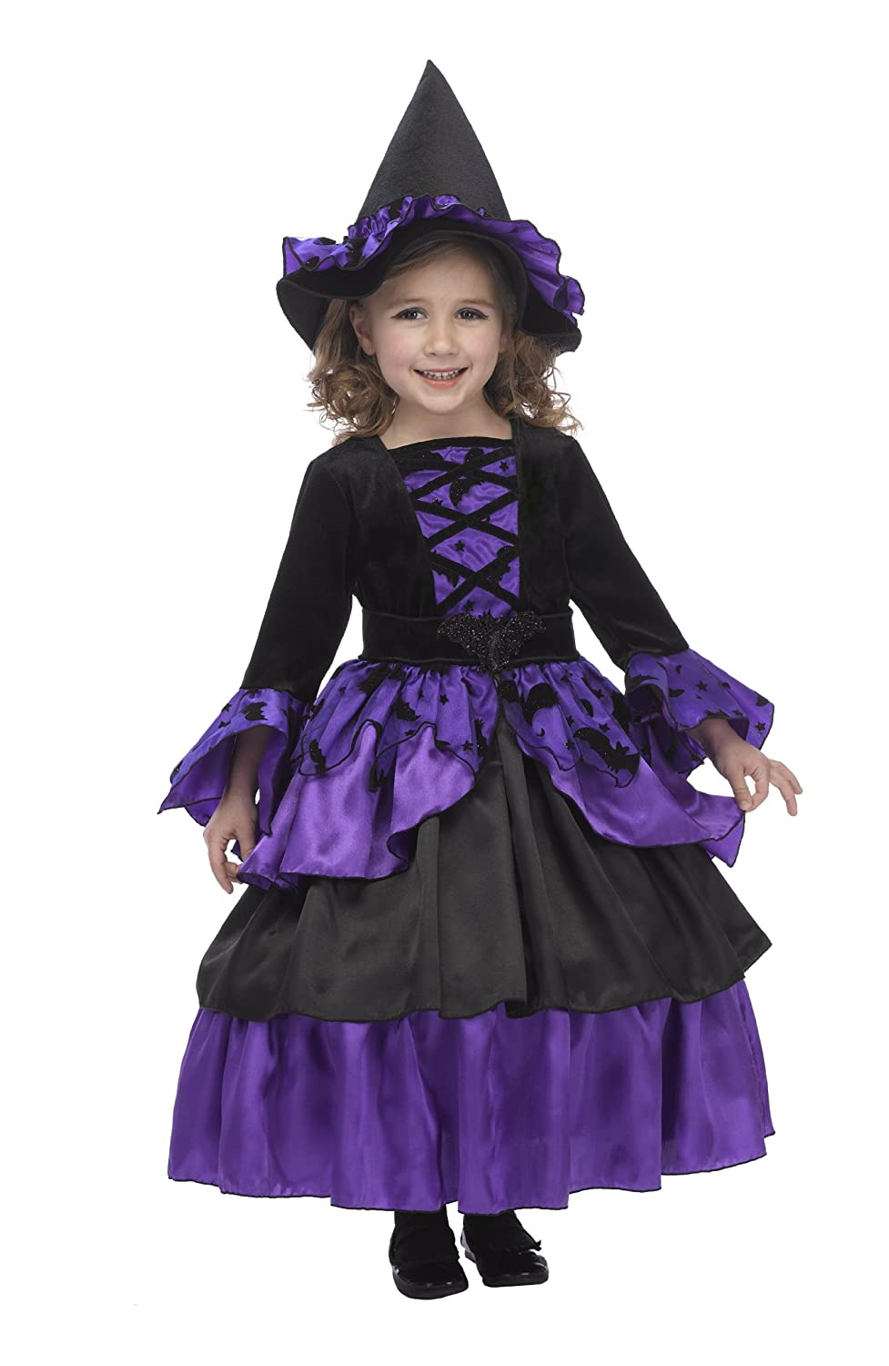 Amazon.com: Just Pretend Kids Bat Witch Fairy Costume with Hoop ...