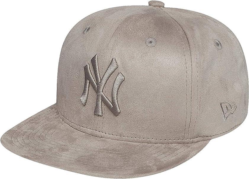 New Era Mujeres Gorras / Gorra Snapback Suede Tone NY Yankees ...