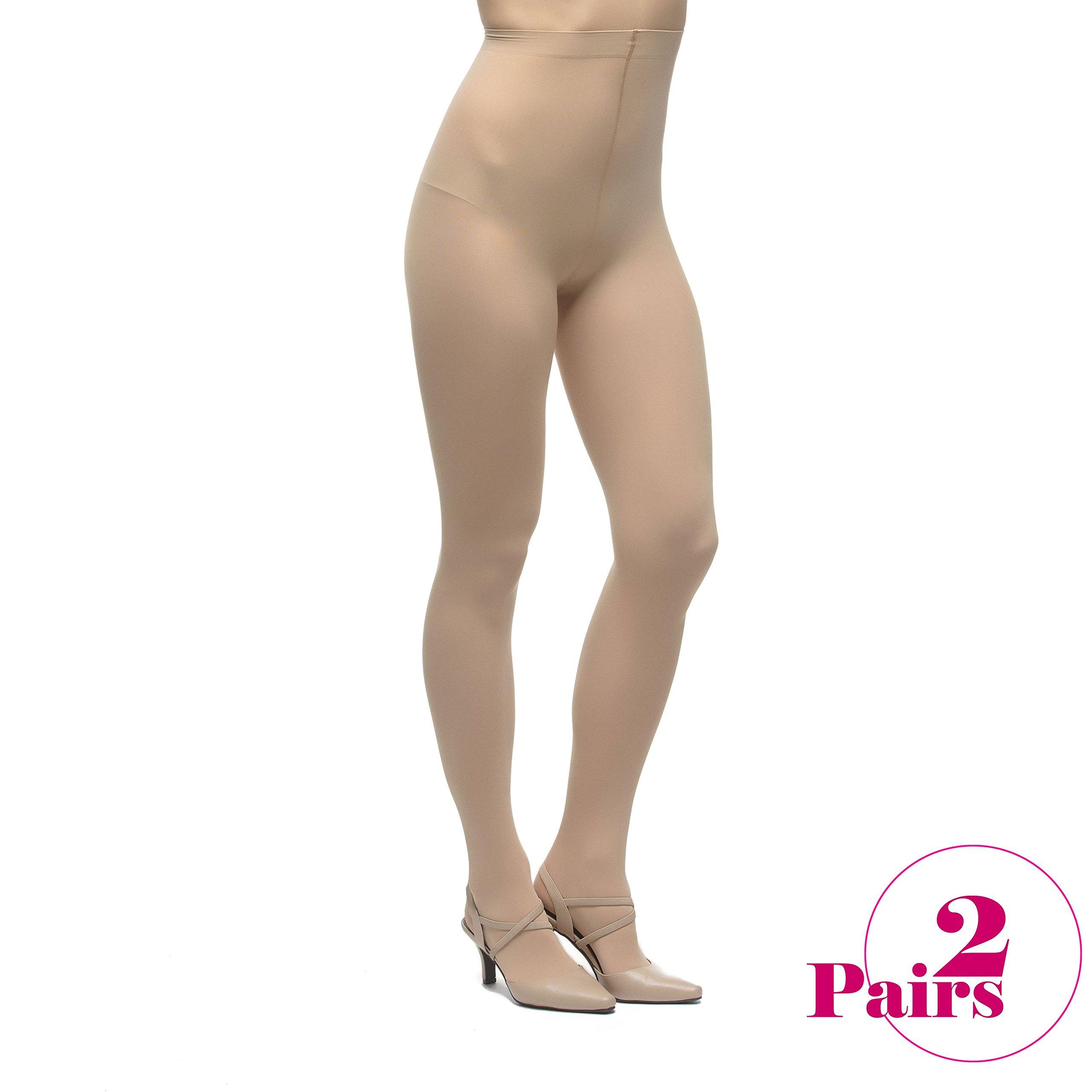 Leen Opaque Tight (Small - Medium, Nude2)