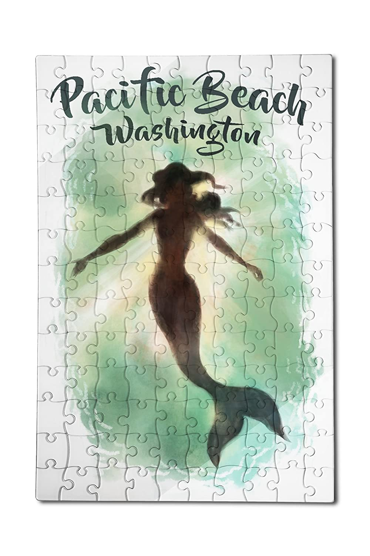 【70%OFF】 パシフィックビーチ、ワシントン – Mermaid Underwater ( 12 x 12 Underwater 18プレミアムアクリルパズル x、130ピース) B07B29VRYY, 芝人おやじのこだわり工房:79763b6c --- a0267596.xsph.ru