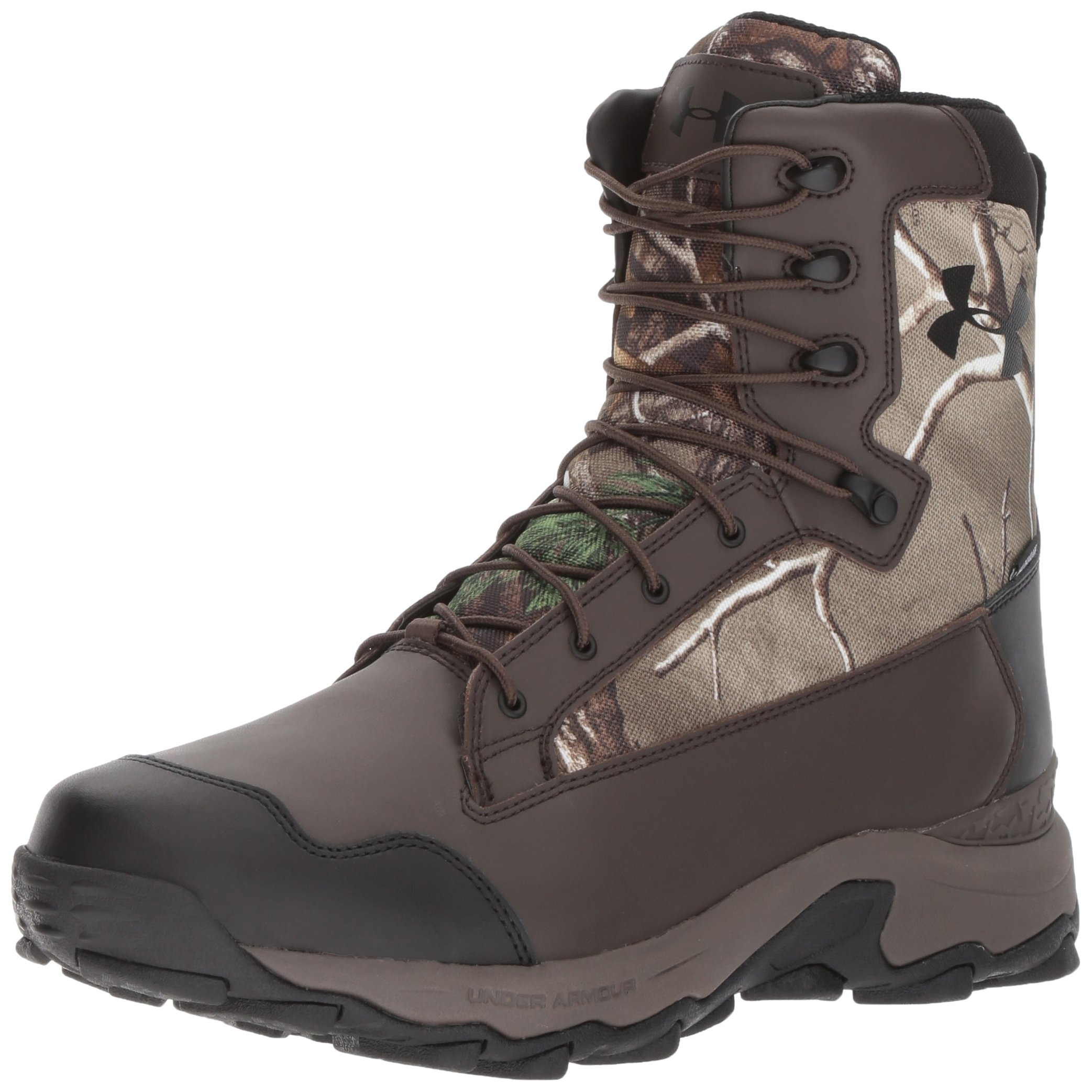 Under Armour Men's Tanger Waterproof-400G Ankle Boot, Realtree Ap-Xtra (946)/Maverick Brown, 10