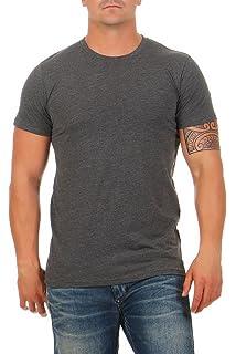 d1334cdbcad3cc Happy Clothing Herren T-Shirt V-Ausschnitt Meliert Comfort Bügelfrei ...