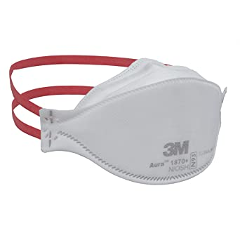 Mask Particulate Respirator And Healthcare Surgical 1870 3m Aura