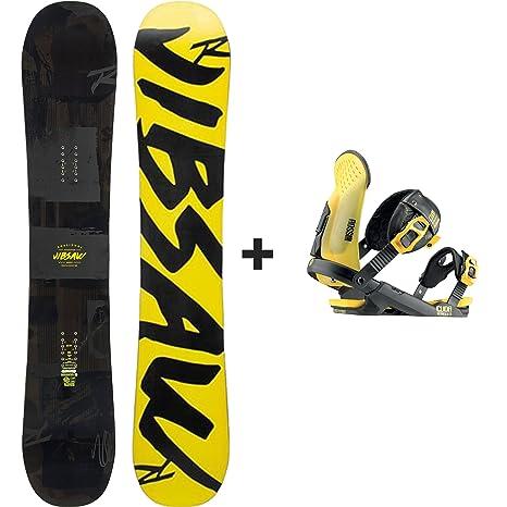 Rossignol - Pack Snowboard jibsaw MagTek + Cuda V2 M/L Negro ...