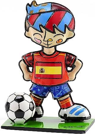 Romero Britto mundial de fútbol Jugador de fútbol mini-figurine – España: Amazon.es: Juguetes y juegos