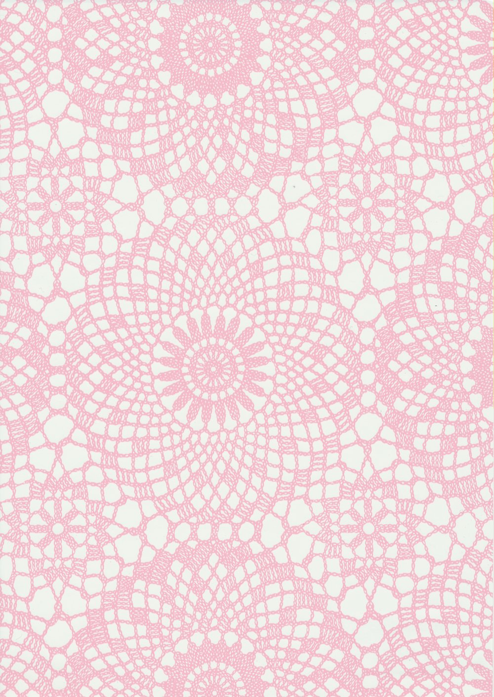 Fablon FAB12647 45 cm x 2 m Roll Contour, Rose Fine Decor