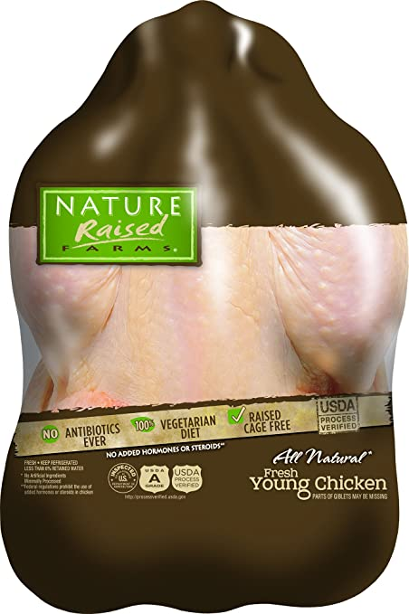 Natureraised Farms Fresh Young Chicken 445 Lbs Amazon