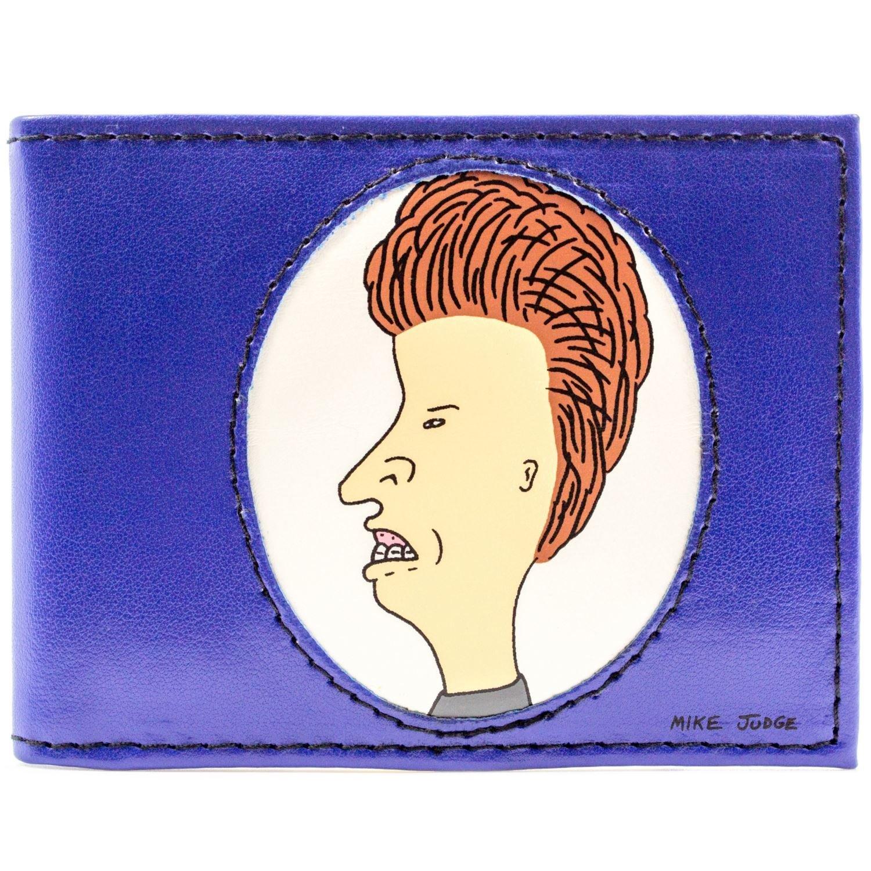 MTV Beavis & Butt-Head Karikatur Blau Portemonnaie Geldbörse 28924