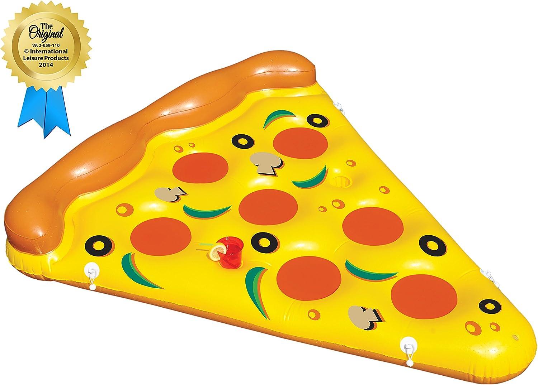 Swimline Inflatable Pizza Slice Pool Float