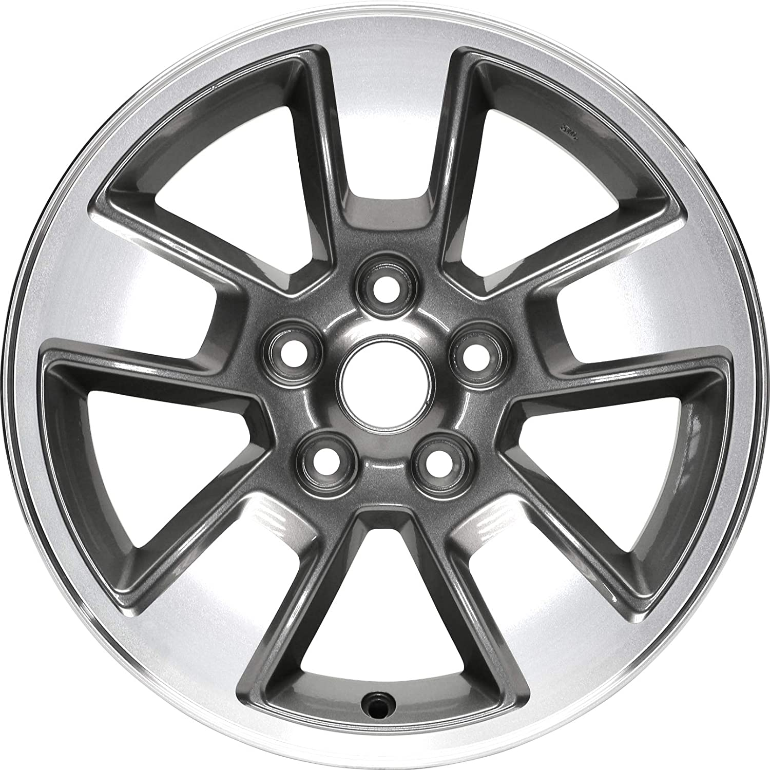 Partsynergy Replacement For New Aluminum Alloy Wheel Rim 16 Inch Fits 08-12 Jeep Liberty 5-115mm 5 Spokes