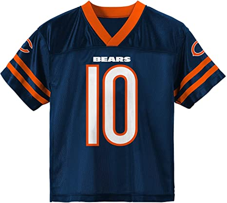 # 10 Trubisky Chicago Bears Jersey 100/% Anniversaire Football Jersey Hommes Maillots Mesh American T Shirts Sportswear Gilets Hauts sans Manches Respirant