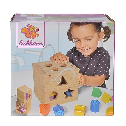 Smoby Eichhorn - 100002092 - Jeu Bois - Jeu Cubes en Bois