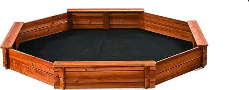 Creative Cedar Designs Octagon Wooden Sandbox
