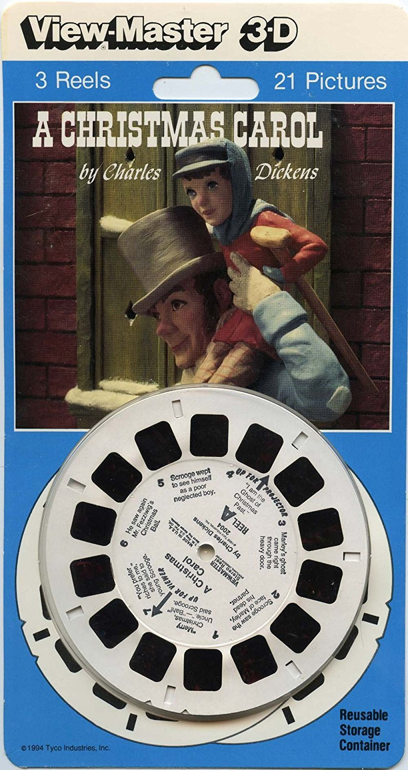 Classic ViewMaster - Classic Tale - A Christmas Carol - ViewMaster Reels 3D - Unsold store stock - never opened by View Master
