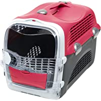 Catit Catit 2.0 Cabrio Carrier, Cherry Red