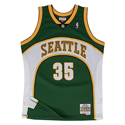 Mitchell   Ness Men s Seattle Supersonics Kevin Durant Swingman Jersey de31a979b