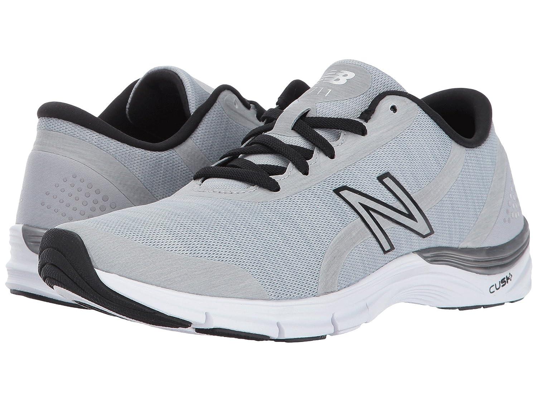 全国宅配無料 (ニューバランス) New 8 Balance WX711 レディーストレーニング競技用シューズ靴 WX711 Balance Steel/Black 8 (25cm) B - Medium B078FZ27NF, Mrs.四季:adfef0bb --- tradein29.ru
