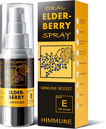 HIMMUNE Ionic Elderberry Liquid Spray Supplement