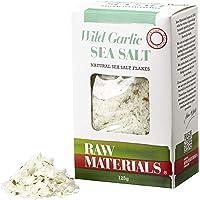 Raw Materials Wild Garlic Sea Salt Flakes, 125 g