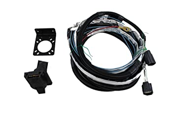 genuine jeep accessories 82210214ab trailer tow wiring harness, wiring -  amazon canada