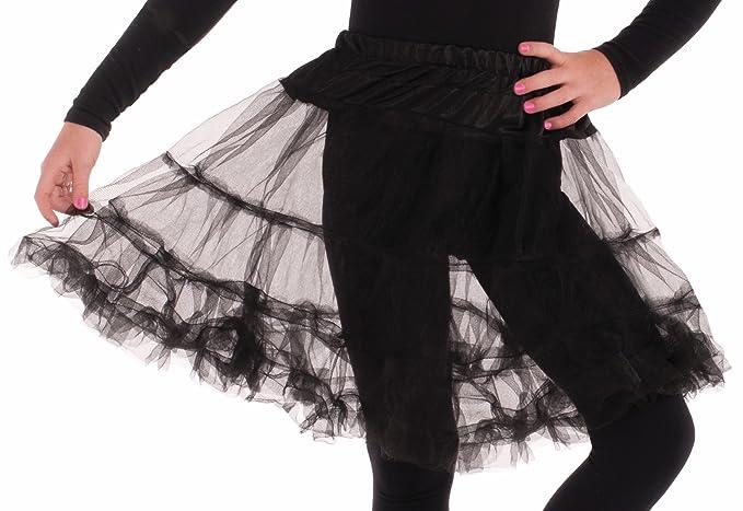bde1aae4d8 Amazon.com: Forum Novelties Child Size Black Crinoline Petticoat ...