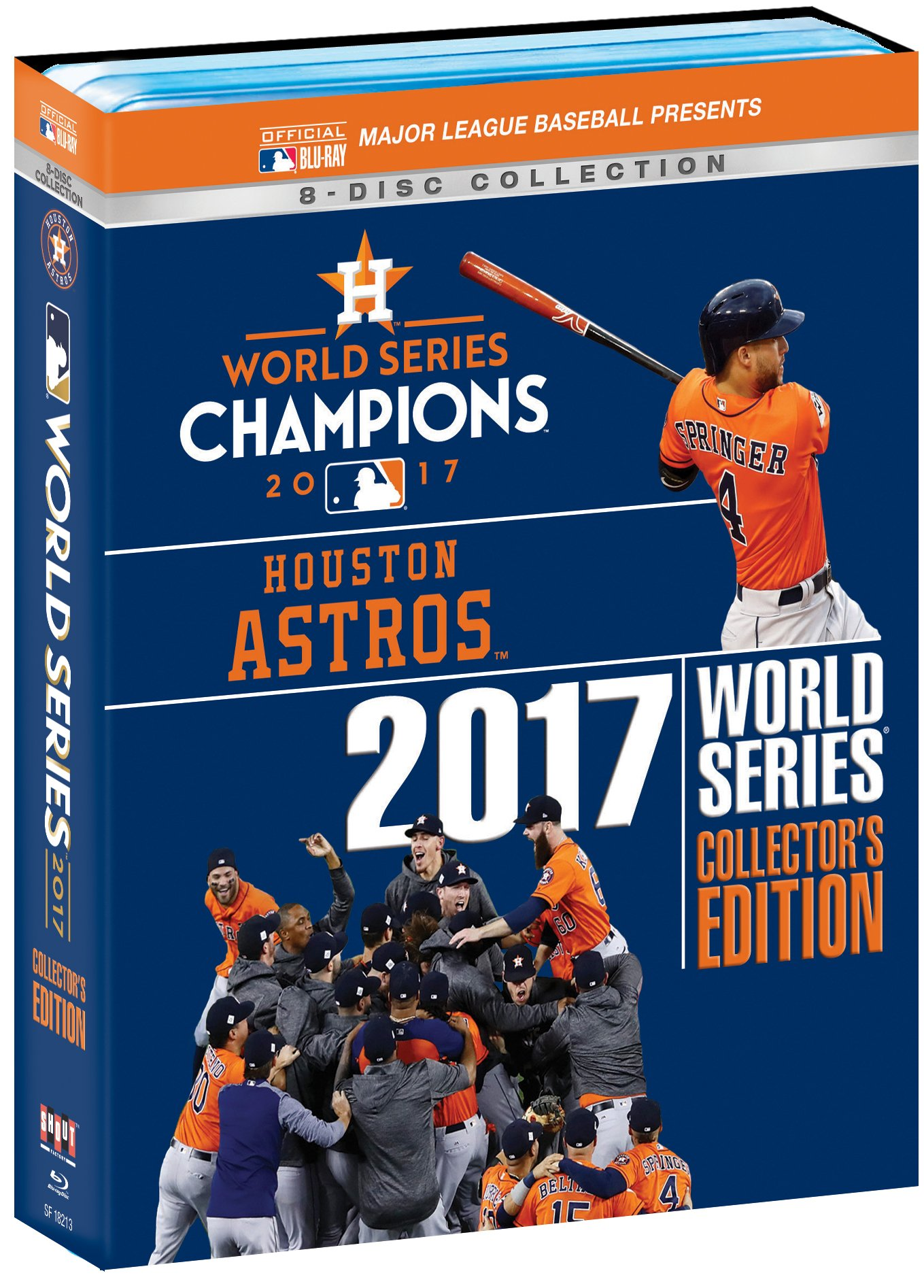 Houston Astros 2017 World Series Collector's Edition [Blu-ray]