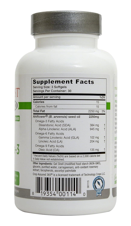 Amazon.com: Greens First - Ahiflower Vegan Omega Oil - 90 Caps: Health & Personal Care