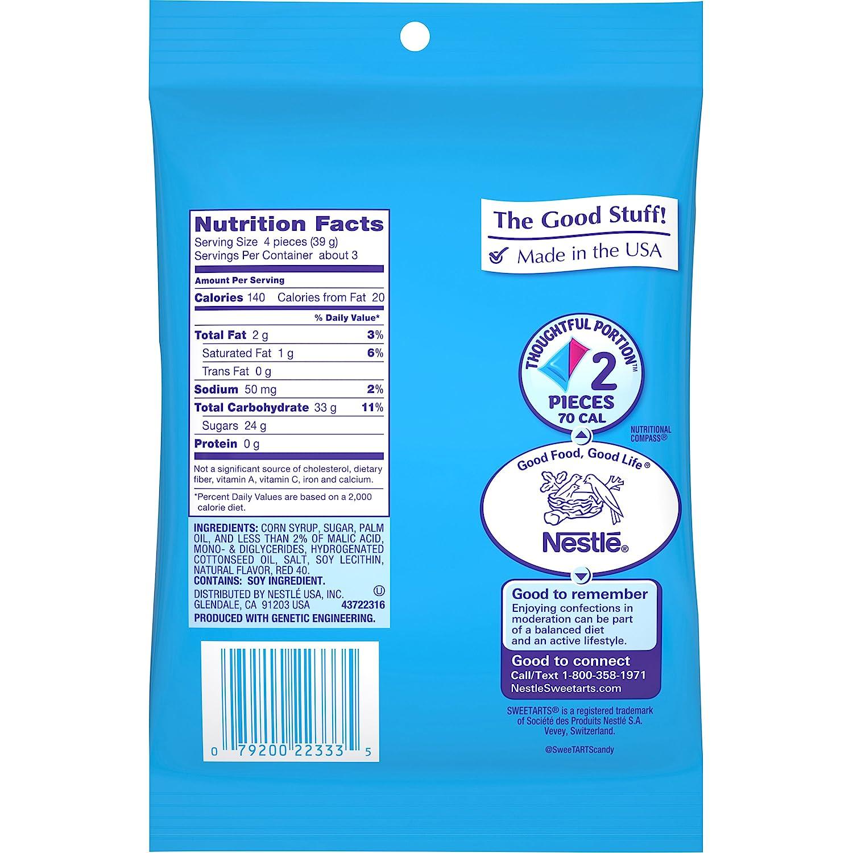 Amazon.com : Sweetarts Chews Candy, 4.2 oz : Hard Candy : Grocery ...