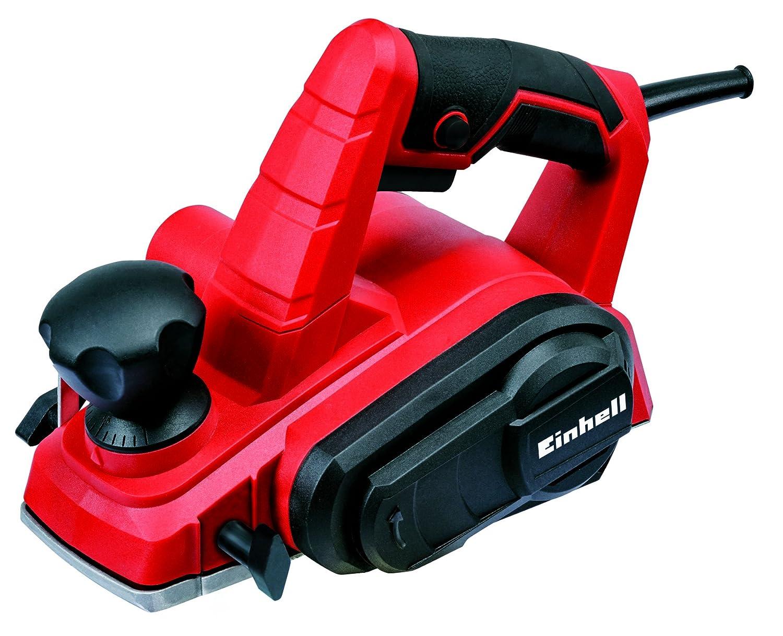 Einhell TC-PL 750 -Cepillo electró nico (Potencia de 750 W, 17000 min-1 RPM), 240 V, Negro, Rojo (ref.4345310)