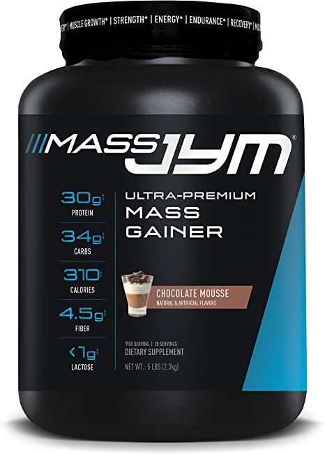 JYM Supplement Science Mass JYM - Música de chocolate (5 kg)