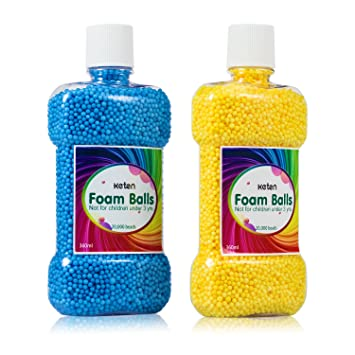 Bolas de espuma para poliestireno expandido de barro (40,000 piezas) botellas de arte decorativo