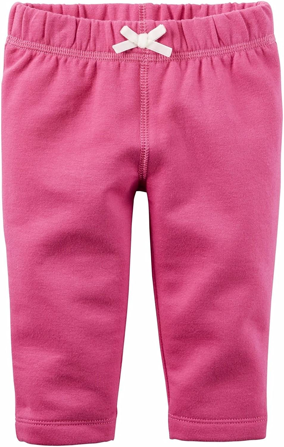 Carters Girls Pink French Terry Pull On Pants 3 Months