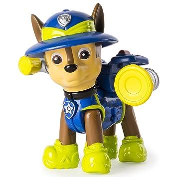 Paw Patrol Jungle Rescue Chase Figurine Articulée De