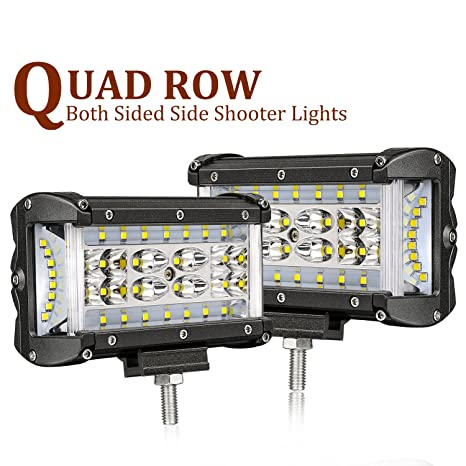Cree Led Lights >> Side Shooters Led Lights Swatow 4x4 108w 5 Inch Quad Row Led Pods Cree Led Cubes Off Road Spot Flood Combo Work Light Driving Fog Light Bar For Jeep