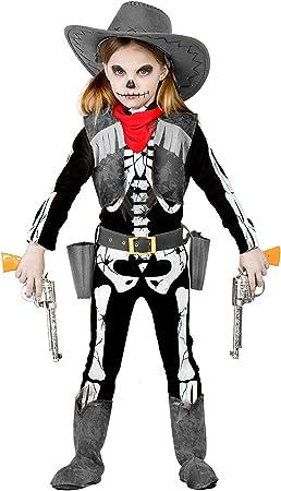 Disfraz Esqueleto Cowboy 5-6: Amazon.es: Juguetes y juegos