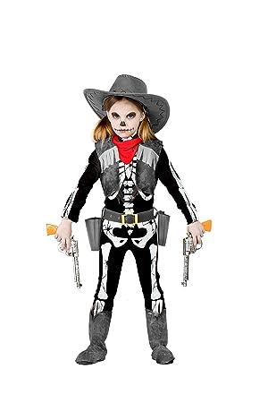 Disfraz Esqueleto Cowboy 10-12: Amazon.es: Juguetes y juegos