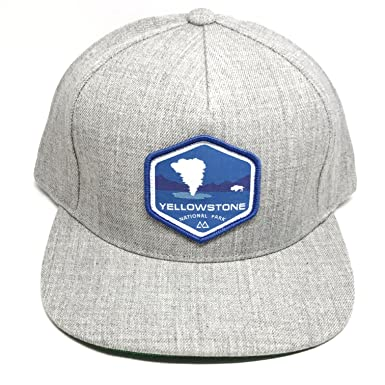 83eba8c5 Skye Mountain Co. - Yellowstone Logo Hat | Flat Brim Trucker Hat - Snapback-