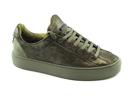 SATORISAN 172032 Somerville Zapatillas de Deporte de Color Verde Oscuro Cordones Mujer: Amazon.es: Zapatos y complementos