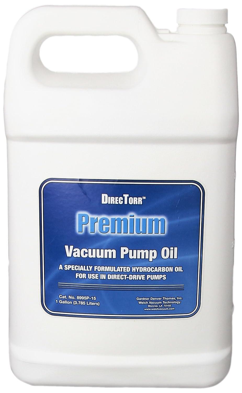 Welch Vacuum 8995P-15 DirecTorr Premium Pump Oil, 1 gal