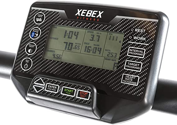 XEBEX® Curved Treadmill - Cinta de Correr con láminas y Superficie ...