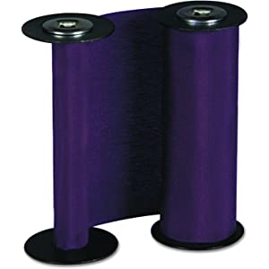 Acroprint 20-0137-000 Replacement Ribbon for ET And ETC Document Stamps, Purple