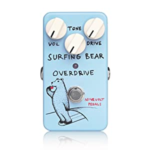 NINEVOLT PEDALS SURFING BEAR OVERDRIVE