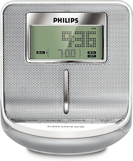 Philips AJ100 Radio réveil Tuner numérique