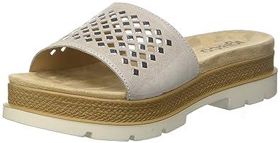 Damen Dle 11747 Pantoffeln, Schwarz (Nero 00), 37 EU Igi & Co